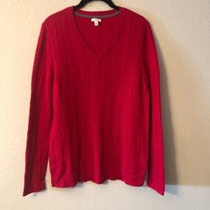 Comfy Red Sonoma Sweater